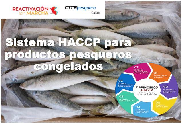 Sistema HACCP para productos pesqueros congelados