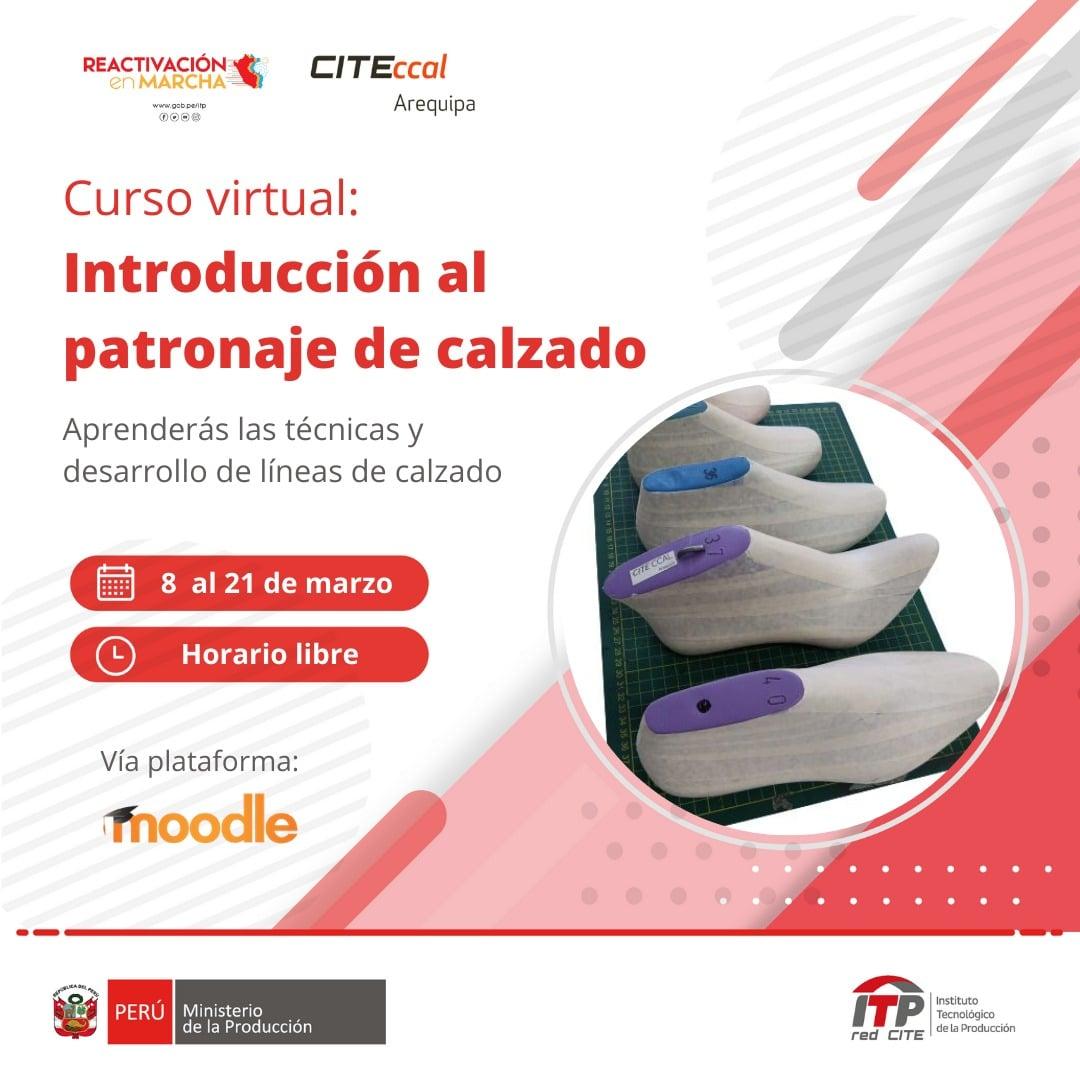 Introducción al patronaje de calzado