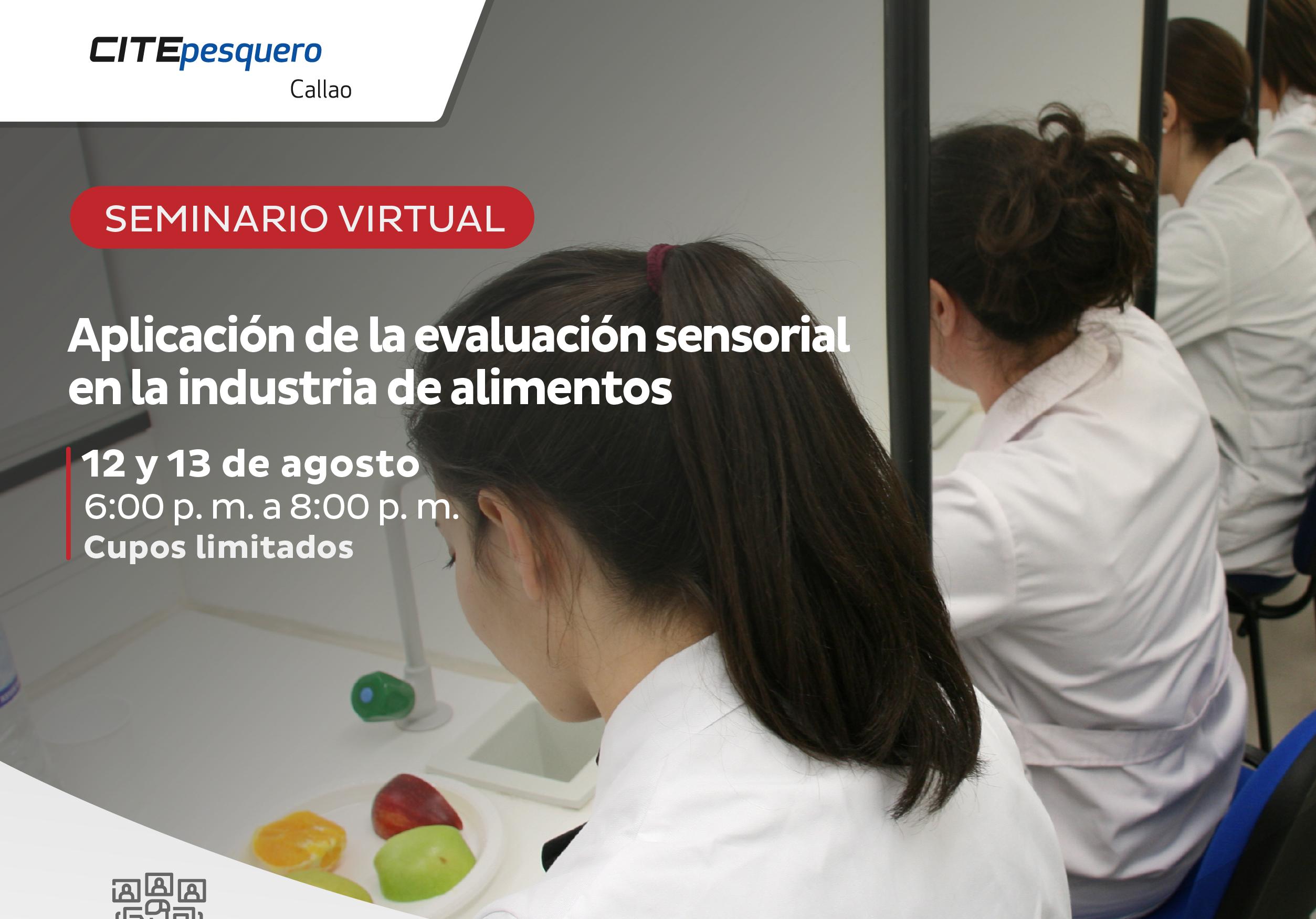 Aplicación de la evaluación sensorial en la industria de alimentos