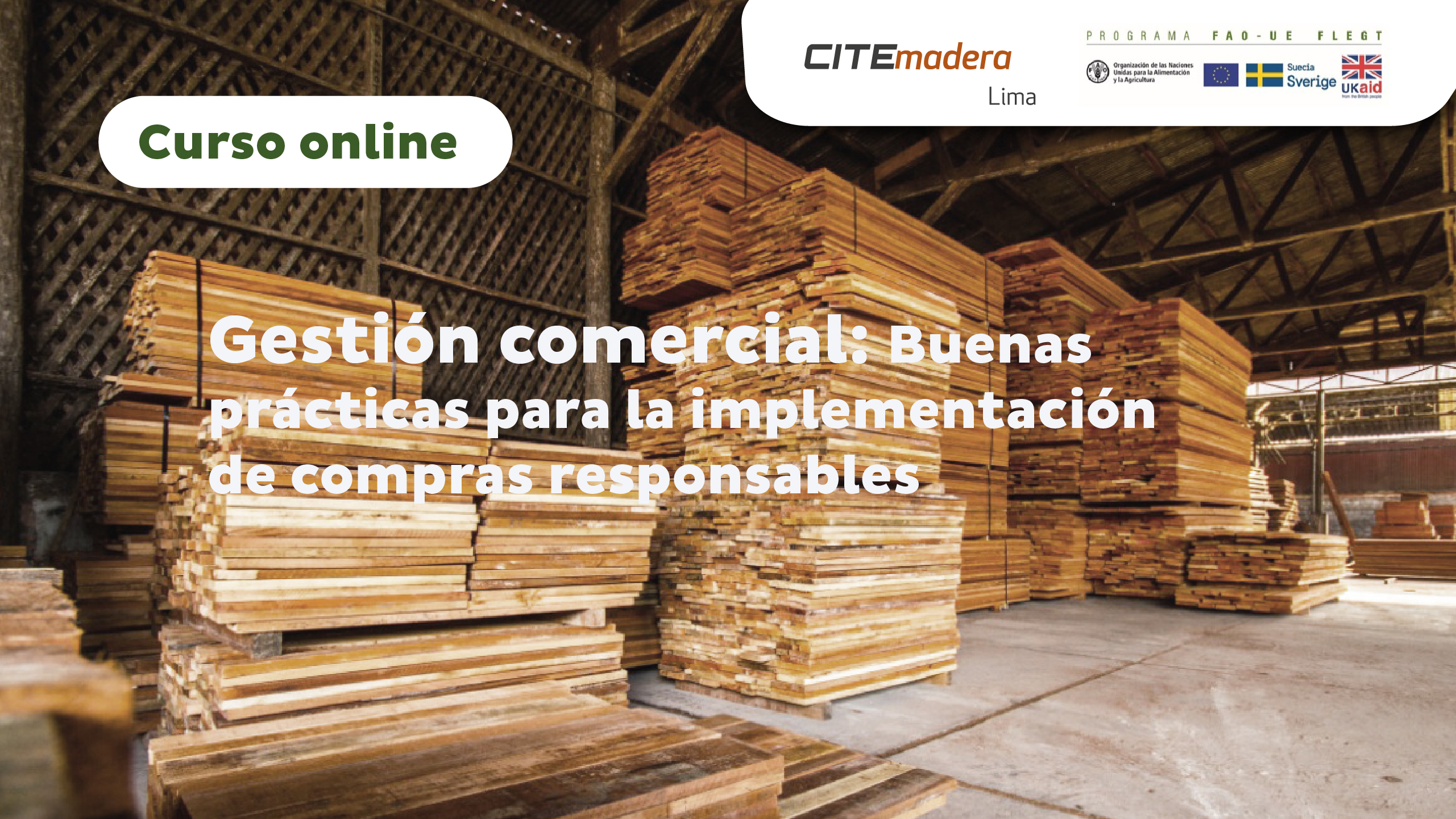 Gestión comercial: Buenas prácticas para la implementación de compras responsables