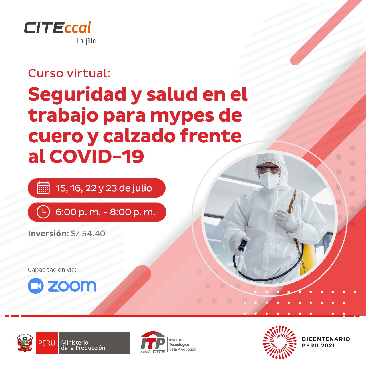 Seguridad y salud en el trabajo para mypes de cuero y calzado frente al COVID-19