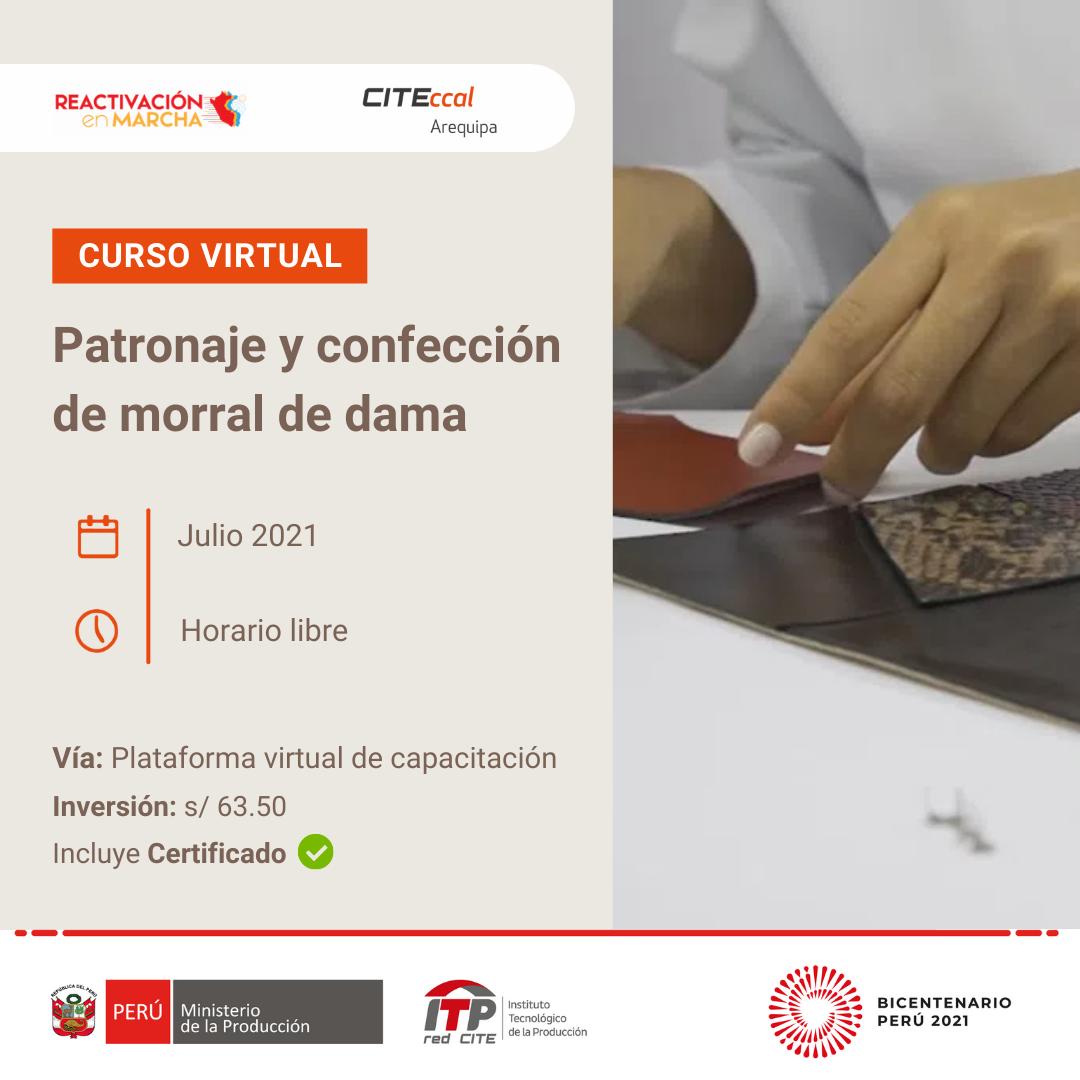 PATRONAJE Y CONFECCIÓN DE MORRAL DE DAMA