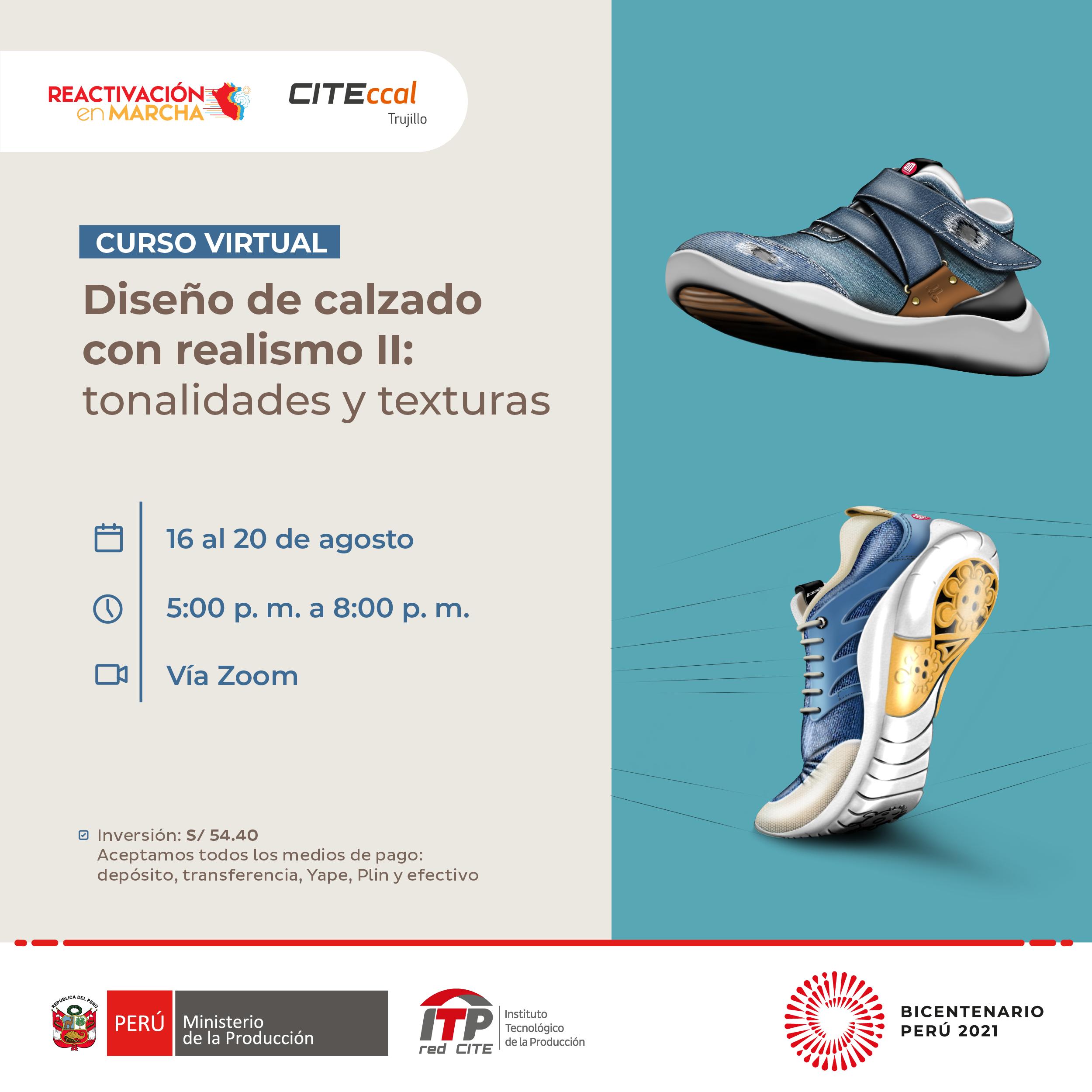 Diseño de calzado con realismo II