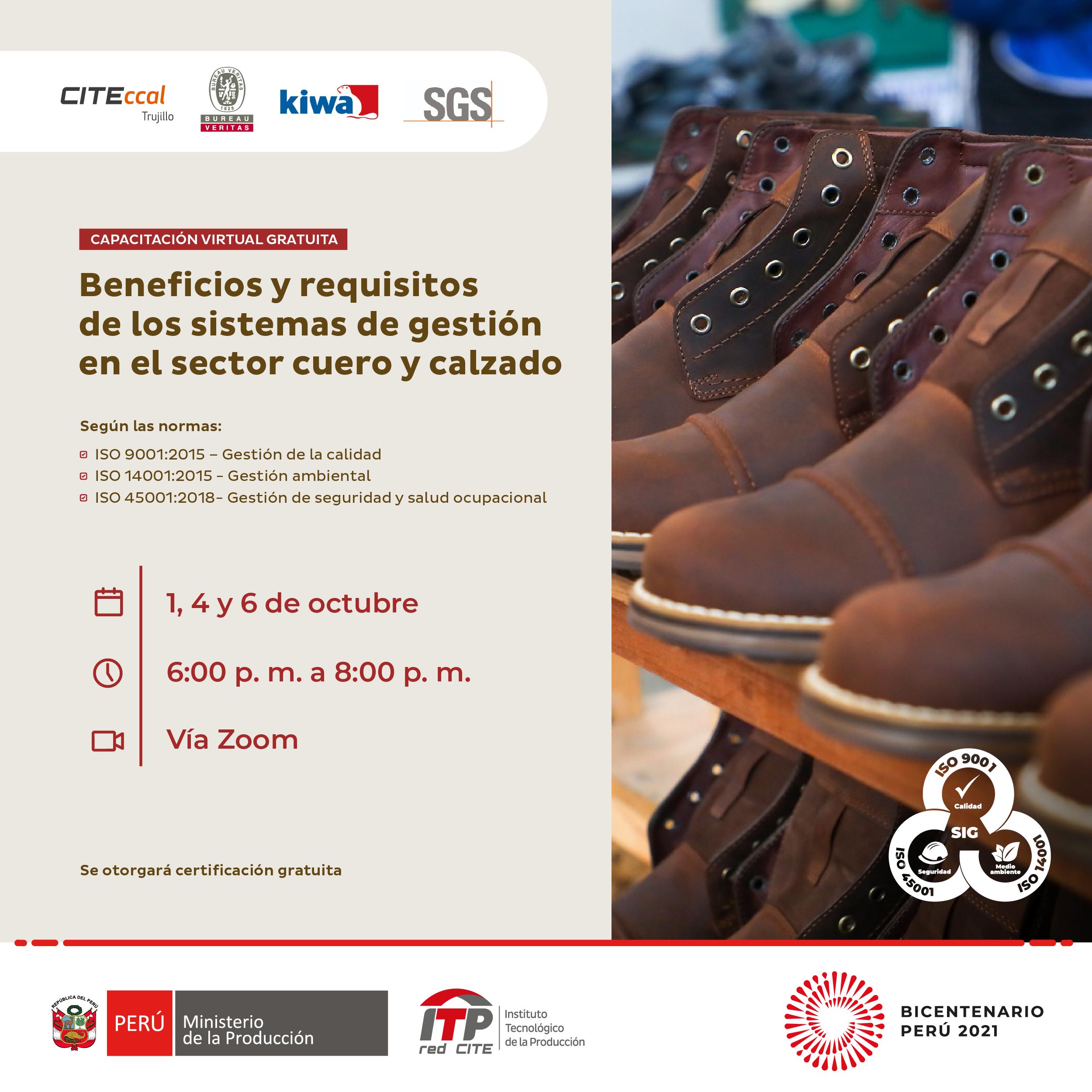 Beneficios y requisitos de los sistemas de gestión en el sector cuero y calzado