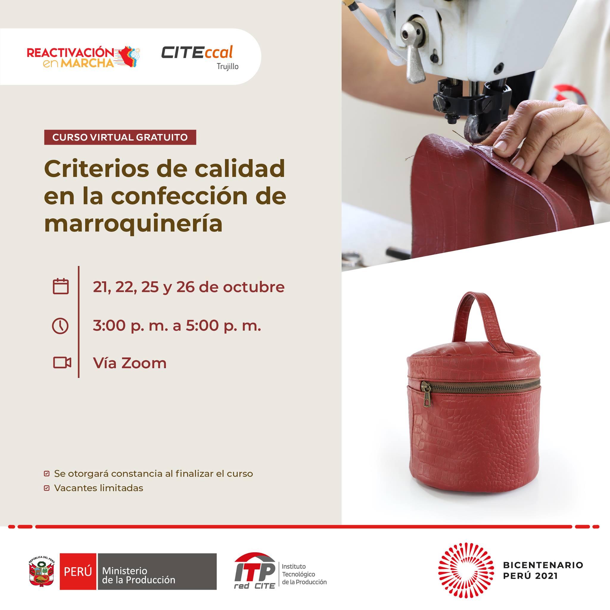 Criterios de calidad en la confección de marroquinería